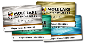 Mole-Lake-Casino-Players-Club-Cards