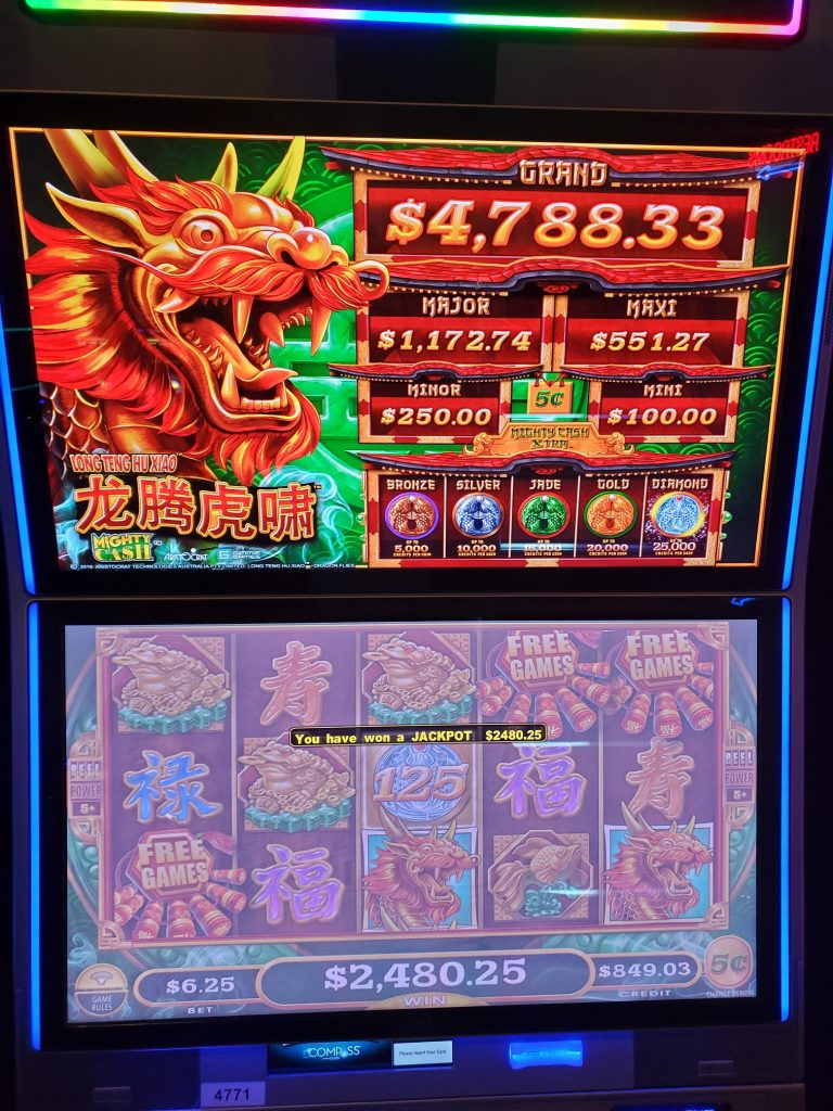 Play Mighty Cash At Mole Lake Casino Lodge In Crandon Wisconsin
