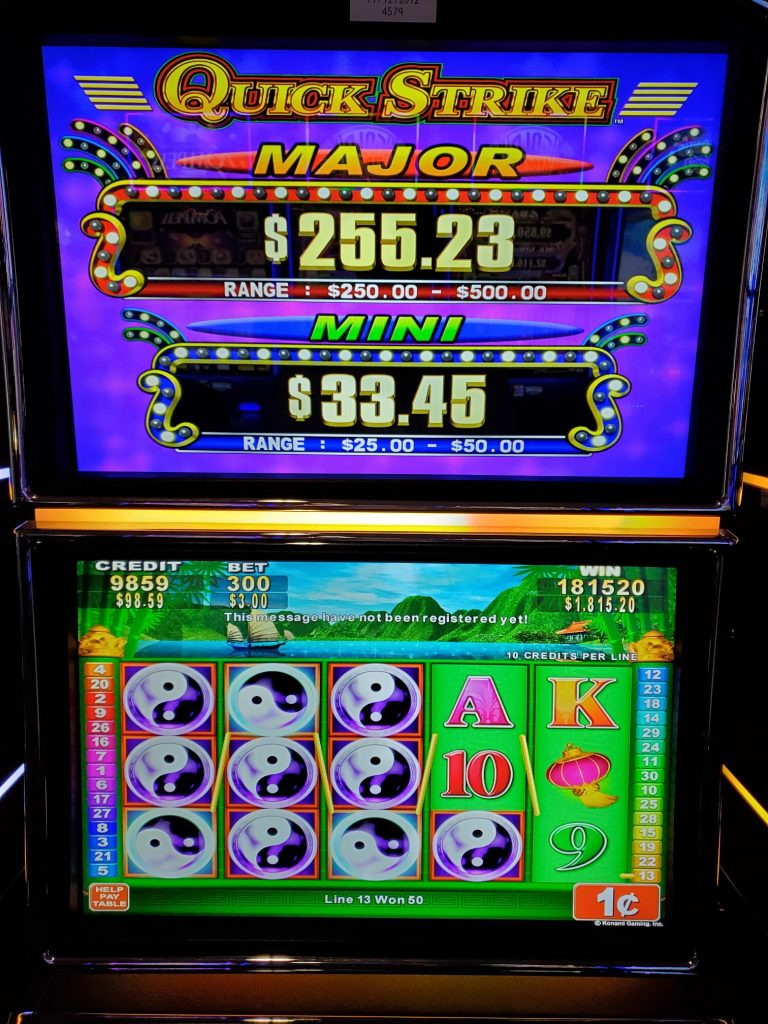 Mole Lake Casino Lodge Has The Quick Strike Slot Machine. Come Try Your Luck!