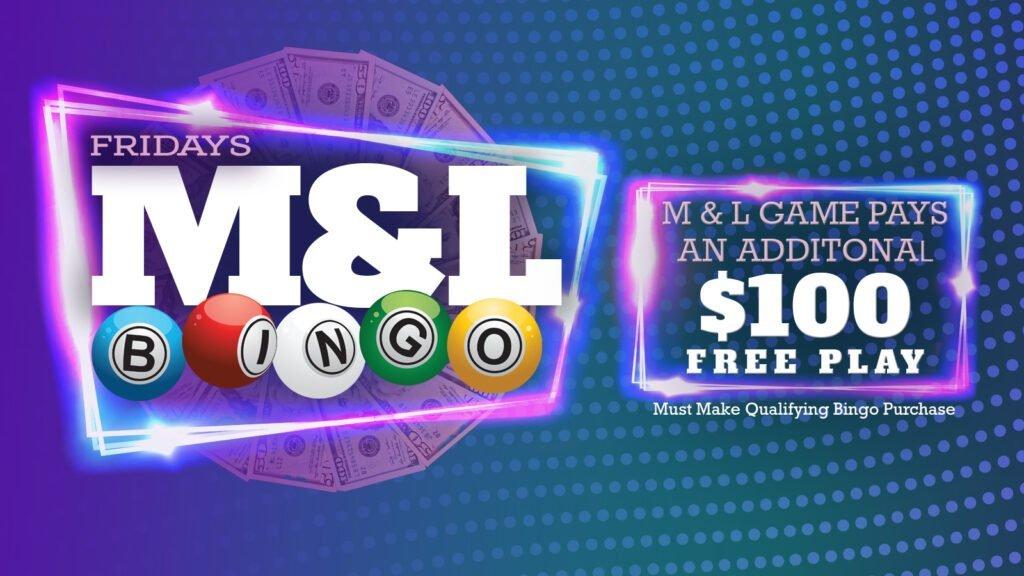 ML Bingo Friday LCD